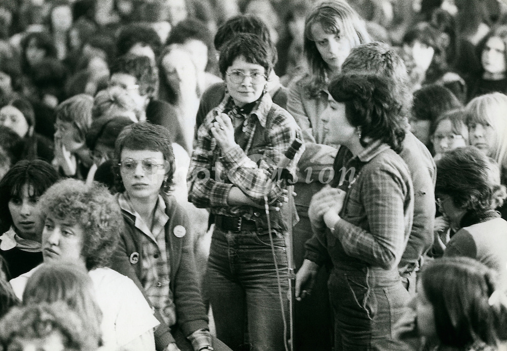 6 April 1978 Birmingham; Womens Liberation Conference; plenary session