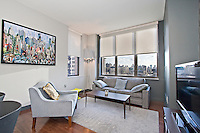Living Room at 101 West 24th Street