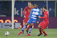 (L-R) *Kingsley Ehizibue* of PEC Zwolle, *Joris van Overeem* of AZ Alkmaar