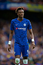 LONDON, ENGLAND - Sunday, August 18, 2019: Chelsea's Tammy Abraham during the FA Premier League match between Chelsea's  FC and Leicester City FC at Stamford Bridge. (Pic by David Rawcliffe/Propaganda)