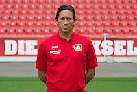 German Bundesliga - Season 2016/17 - Photocall Bayer 04 Leverkusen on 25 July 2016 in Leverkusen, Germany: Chef-coach Roger Schmidt. Photo: Guido Kirchner/dpa | usage worldwide