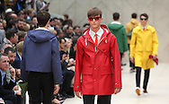 LONDON, ENGLAND - JUNE 18:  Models walk the runway at the Burberry Prorsum show at the London Collections: MEN SS14 at Kensington Gardens on June 18, 2013 in London, England.  (Photo by Tim P. Whitby/Getty Images)