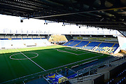 Inside the Kassam Stadium before the The FA Cup Fourth Round match between Oxford United and Blackburn Rovers at the Kassam Stadium, Oxford, England on 30 January 2016. Photo by Dennis Goodwin.