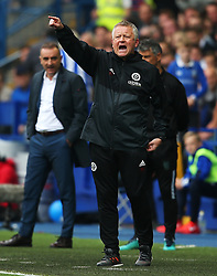 Sheffield United manager Chris Wilder points ahead of Sheffield Wednesday manager Carlos Carvalhal - Mandatory by-line:  Matt McNulty/JMP - 24/09/2017 - FOOTBALL - Hillsborough - Sheffield, England - Sheffield Wednesday v Sheffield United - Sky Bet Championship