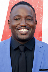 Hannibal Buress at the Los Angeles premiere of 'Tag' held at the Regency Village Theatre in Westwood, USA on June 7, 2018.