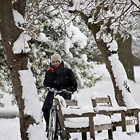 Richmond - England  Feb 2nd The snow which crippled South East England this morning will stay with the UK for the rest of the week, forecasters warn,...***Standard Licence  Fee's Apply To All Image Use***.Marco Secchi. tel +44 (0) 845 050 6211. e-mail ms@msecchi.com .www.marcosecchi.com