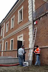 20111215 LAVORI ALLESTIMENTO MUSEO MEIS