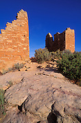 Morning light on Hovenweep Castle Ruins, Hovenweep National Monument, Utah