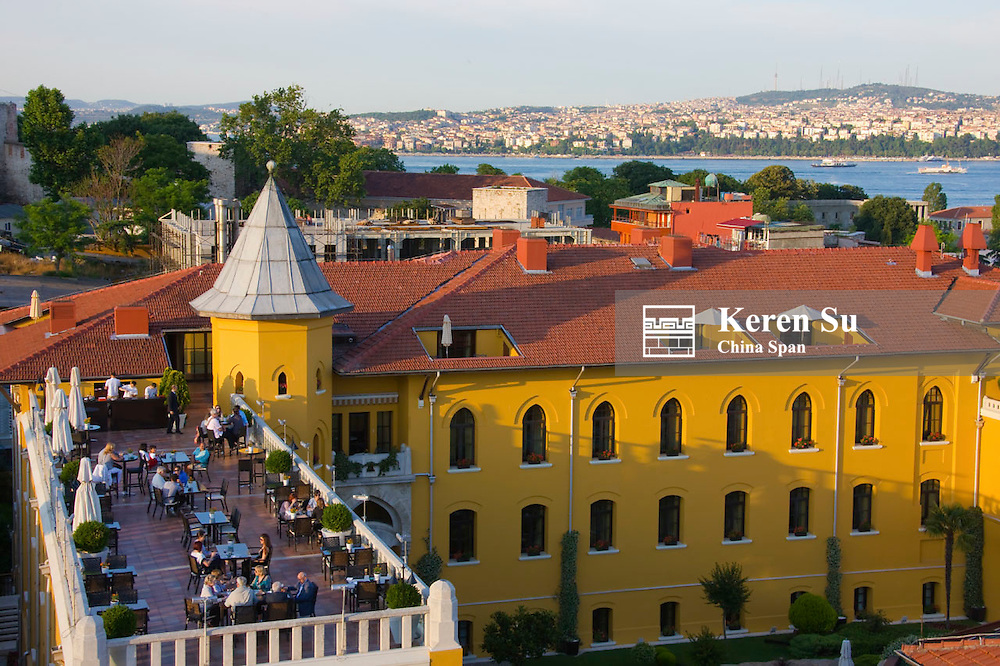 Cityscape along the Bosphorus, Istanbul, Turkey