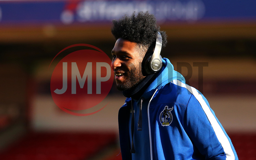 Ellis Harrison of Bristol Rovers arrives at The Bank's Stadium to face Walsall - Mandatory by-line: Robbie Stephenson/JMP - 26/12/2017 - FOOTBALL - Banks's Stadium - Walsall, England - Walsall v Bristol Rovers - Sky Bet League One