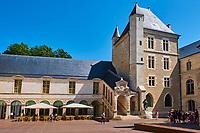 France, Côte-d'Or (21), Paysage culturel des climats de Bourgogne classés Patrimoine Mondial de l'UNESCO, Dijon, Le Musée des Beaux-Arts dans l'ancien palais des ducs de Bourgogne // France, Burgundy, Côte-d'Or, Dijon, Beaux-Art museum