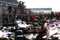April 15, 2018 - Shanghai, China - Shanghai: Motorsports: Formula 1 2018 Heineken Chinese Grand Prix.Chinese Formula One Grand Prix Shanghai Circuit in Shanghai, China. Photographers taking pictures of the winners  (Credit Image: © Hoch Zwei via ZUMA Wire)