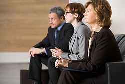 Dec. 04, 2012 - Business people waiting for job interview (Credit Image: © Image Source/ZUMAPRESS.com)