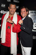 Laurence Fishburne, and Ralph Simons, U.S. President of Frederique Constant / Alpina Watches