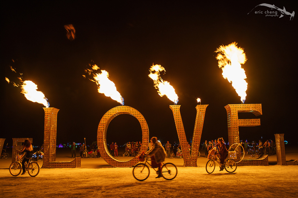 LOVE. Burning Man 2014.