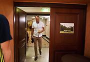 LUBLIN, POLEN 2017-06-23<br /> H&aring;kan Ericson under Sveriges U21 landslags press konferens p&aring; IBB Grand Hotel Lublinianka den 23 juni, 2017. <br /> Foto: Nils Petter Nilsson/Ombrello<br /> Fri anv&auml;ndning f&ouml;r kunder som k&ouml;pt U21-paketet.<br /> Annars Betalbild.<br /> ***BETALBILD***