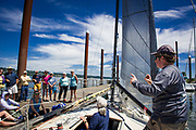 Yacht racing tactics and strategy seminar by Andrew Kerr, 16-JUN-2019.