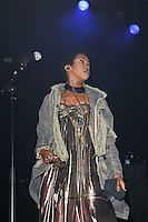 LONDON - APRIL 14: Lauryn Hill performing live in concert at the indigo2, Greenwich, London, UK. April 14, 2012