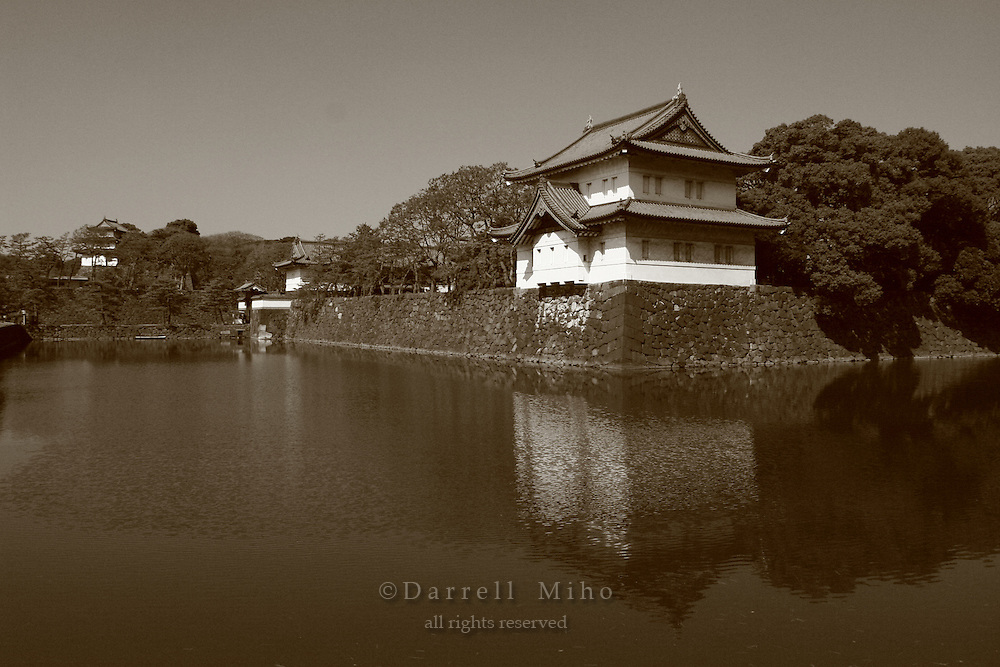 Mar 4, 2006; Tokyo, JPN; Imperial Palace.Building on the east end of the Imperial Palace complex...Photo credit: Darrell Miho