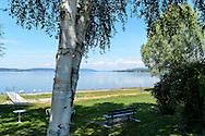 Seefelden am Bodensee. Lac de Constance, Bade-Wurtemberg, Allemagne.