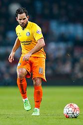 Sam Wood of Wycombe Wanderers in action - Mandatory byline: Rogan Thomson/JMP - 19/01/2016 - FOOTBALL - Villa Park Stadium - Birmingham, England - Aston Villa v Wycombe Wanderers - FA Cup Third Round Replay.