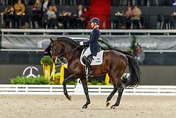 KLIMKE Ingrid (GER), Franziskus <br /> Stuttgart - German Masters 2019<br /> Preis der Firma tisoware<br /> GERMAN DRESSAGE MASTER<br /> Grand Prix Special<br /> 17. November 2019<br /> © www.sportfotos-lafrentz.de/Stefan Lafrentz