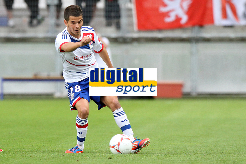 FOOTBALL - FRIENDLY GAMES 2012/2013 - OLYMPIQUE LYONNAIS v ATHLETIC BILBAO - 13/07/2011 - PHOTO EDDY LEMAISTRE / DPPI - ENZO REALE (OL)
