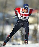 Langrenn, 22. november 2003, Verdenscup Beitostølen,  Vincent Vittoz, Frankrike