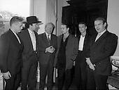 1987 - U2 Meet An Taoiseach,Charles Haughey.   (R58).