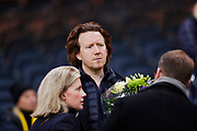 SOLNA, SWEDEN - MARCH 13: Erik Ljunggren, chairman of AIK during the Swedish Cup Quarterfinal between AIK and Orebro SK at Friends arena on March 13, 2018 in Solna, Sweden. Photo by Nils Petter Nilsson/Ombrello<br /> ***BETALBILD***