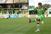 Forest Green Rovers Elliott Frear(17) on the ball during the EFL Sky Bet League 2 match between Forest Green Rovers and Mansfield Town at the New Lawn, Forest Green, United Kingdom on 19 October 2019.