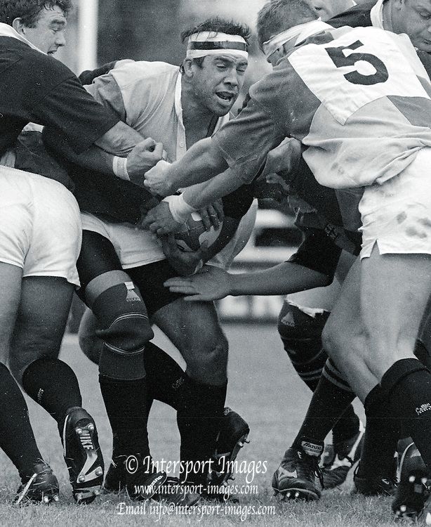 Twickenham, GREAT BRITAIN,     Quins, Chris SHEASBY, during the premiership match, Harlequins vs London Wasps, played at The Stoop Memorial Ground. 10.1994..[Mandatory Credit; Peter Spurrier/Intersport-images]