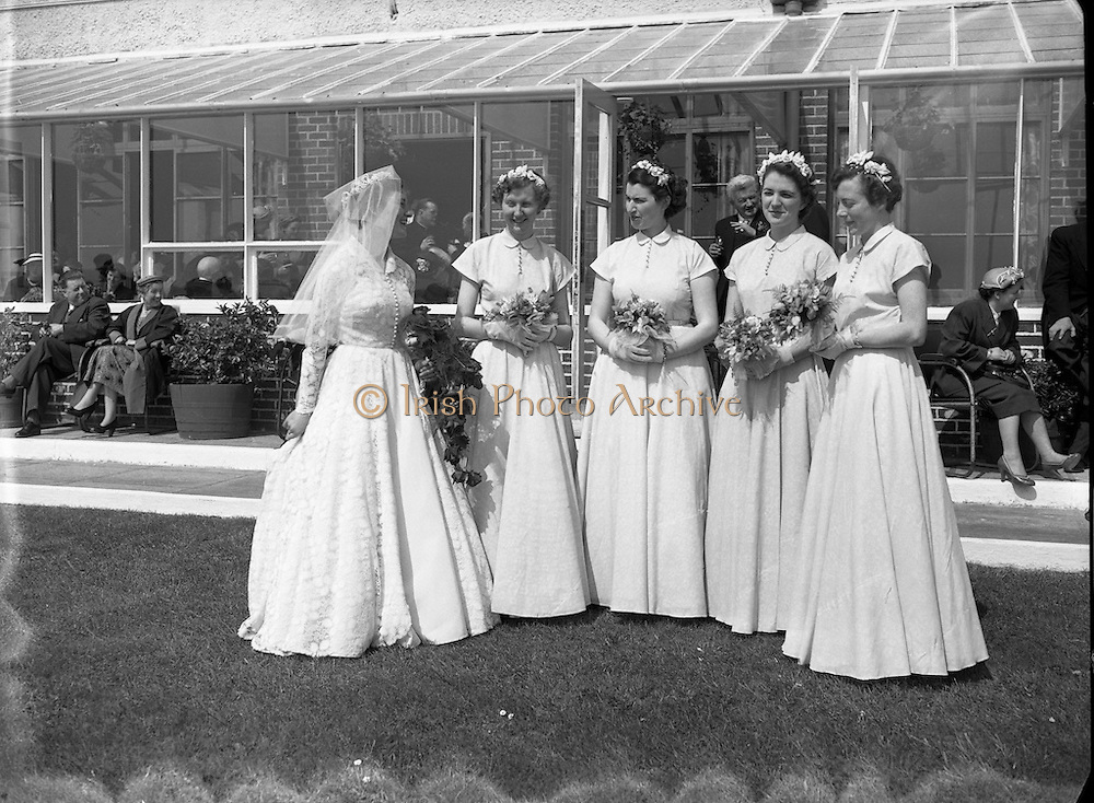 28/04/1954<br /> 04/28/1954<br /> 28 April 1954<br /> <br /> Wedding - McCabe - Quinn at St. John's Clontarf and Red Island Holiday Camp