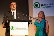 speaking at the 2010 Ashden Awards ceremony after winning the International Gold award.