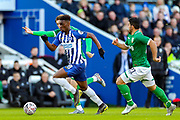 Brighton & Hove Albion midfielder Yves Bissouma (8) on the ball during the The FA Cup match between Brighton and Hove Albion and Sheffield Wednesday at the American Express Community Stadium, Brighton and Hove, England on 4 January 2020.