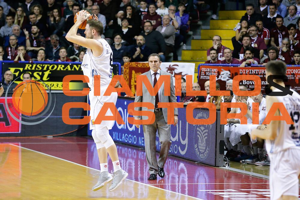 DESCRIZIONE : Venezia Lega A 2015-16 Umana Reyer Venezia Dolomiti Energia Trentino<br /> GIOCATORE : Filippo Baldi Rossi Carlo Recalcati<br /> CATEGORIA : Rimbalzo Ritratto<br /> SQUADRA : Umana Reyer Venezia Dolomiti Energia Trentino<br /> EVENTO : Campionato Lega A 2015-2016<br /> GARA : Umana Reyer Venezia Dolomiti Energia Trentino<br /> DATA : 28/12/2015<br /> SPORT : Pallacanestro <br /> AUTORE : Agenzia Ciamillo-Castoria/G. Contessa<br /> Galleria : Lega Basket A 2015-2016 <br /> Fotonotizia : Venezia Lega A 2015-16 Umana Reyer Venezia Dolomiti Energia Trentino