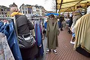 Nederland, Nijmegen, 2-4-2018Drukte op de markt in het centrum. Foto: Flip Franssen
