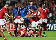 Canada scrum half Phil Mack during the Rugby World Cup 2015 Pool D match (22) between France and Canada at Stadium MK, Milton Keynes, England on 1 October 2015. Photo by David Charbit.