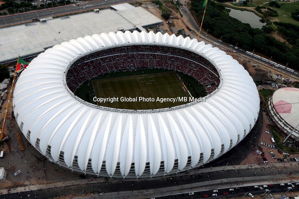 Football Fifa World Cup Brazil 2014 / <br /> Porto Alegre - Rio Grande do Sul - Brazil - <br /> Sc Internacional vs Ca Penarol 2-1 , Opening Match of New &quot; BEIRA RIO STADIUM &quot; on Porto Alegre - Rio Grande Do Sul / Brazil , <br /> Ready for the next FIFA World Cup Brazil 2014  , and able to accommodate a capacity of 48.849 Spectators .<br /> ( Panoramic View of  BEIRA RIO STADIUM )