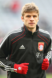 27.11.2010, Allianz Arena, Muenchen, GER, 1.FBL, FC Bayern Muenchen vs Eintracht Frankfurt, im Bild Thomas Mueller (Bayern #25)  , EXPA Pictures © 2010, PhotoCredit: EXPA/ nph/  Straubmeier       ****** out ouf GER ******