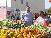 Israel, Sderot, The market, Shopping while it is quiet November 20th 2007