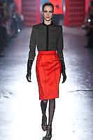 Julia Frauche walks down runway for F2012 Jason Wu's collection in Mercedes Benz fashion week in New York on Feb 10, 2012 NYC