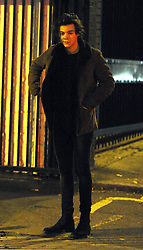 Harry Styles from One Direction arriving at a recording studio in London, UK. 16/11/2013<br />