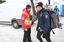 03.01.2015, Langlaufstadion, Obersdorf, GER, FIS Weltcup Langlauf, Tour de Ski, Obersdorf, Damen, Prolog 3,2 km, Einzel, im Bild ALEKSANDER WIERIETIELNY, JUSTYNA KOWALCZYK // during the Prologue Ladies 3.2 km Individual Free Cross Country of the FIS Tour de Ski 2015 at the Langlaufstadion in Obersdorf, Germany on 2015/01/03. EXPA Pictures &copy; 2015, PhotoCredit: EXPA/ Newspix/ Tomasz Markowski<br /> <br /> *****ATTENTION - for AUT, SLO, CRO, SRB, BIH, MAZ, TUR, SUI, SWE only*****