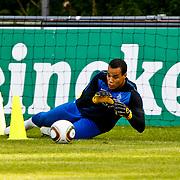 NLD/Katwijk/20100809 - Training van het Nederlands elftal, training van keeper Michel Vorm