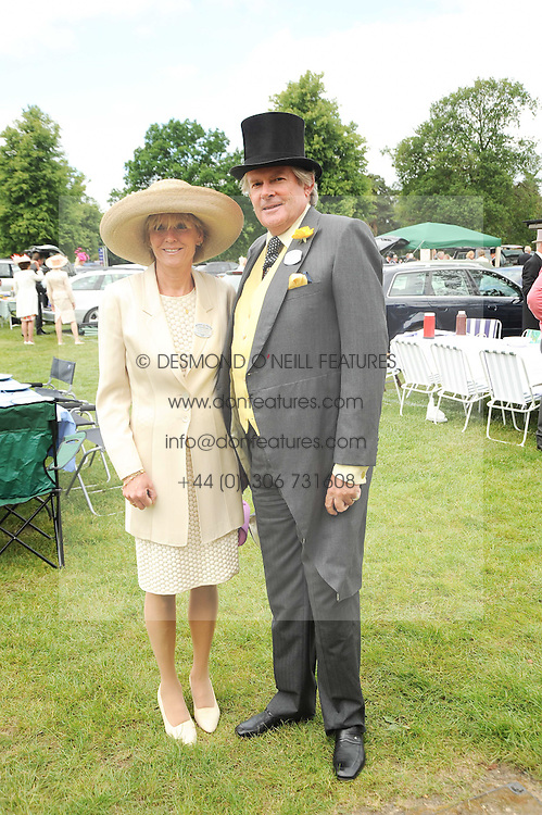 MR & MRS JOHN ANSTRUTHER-GOUGH-CALTHORPE at the first day of the 2010 Royal Ascot Racing festival at Ascot Racecourse, Berkshire on 15th June 2010.