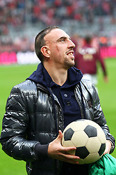 16.10.2010, Allianz Arena, Muenchen, GER, 1.FBL, FC Bayern Muenchen vs Hannover 96, im Bild Franck Ribery (Bayern #7), EXPA Pictures © 2010, PhotoCredit: EXPA/ nph/  Straubmeier+++++ ATTENTION - OUT OF GER +++++