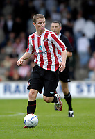 Photo: Jed Wee/Sportsbeat Images.<br /> Scunthorpe United v Sunderland. Pre Season Friendly. 21/07/2007.<br /> <br /> Sunderland's Grant Leadbitter.