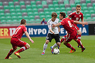 Maximilian Meyer of Germany vs Sebastian Rudol of Poland during the UEFA European Under-17 Championship Group A semifinal match between Germany and Poland on May 13, 2012 in SRC Stozice, Ljubljana, Slovenia. (Photo by Matic Klansek Velej / Sportida.com)