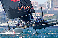 PORTUGAL, Cascais. 7th August 2011. America's Cup World Series. Day 2. ORACLE Racing Coutts.